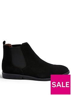topman-faux-suede-chelsea-boots--nbspblack