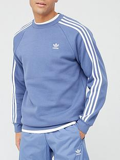 adidas-originals-3-stripes-crew-blue