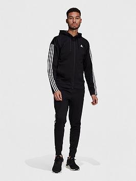 adidas-ribbed-tracksuit-blackwhite