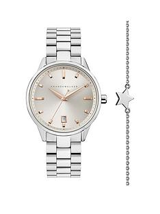 amanda-walker-amanda-walker-amelia-champagne-date-dial-stainless-steel-bracelet-ladies-watch-and-star-bracelet-gift-set