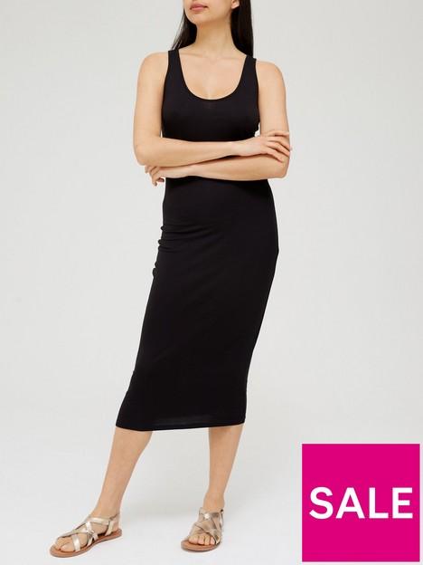 v-by-very-loose-column-jersey-midi-dress-black