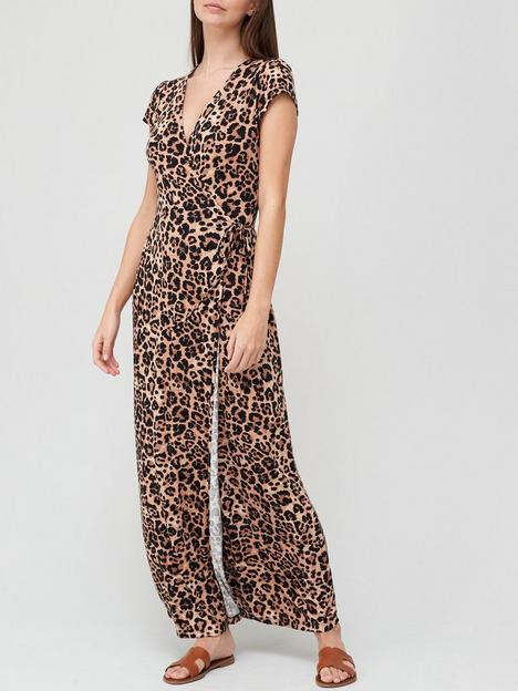 v-by-very-short-sleeve-wrap-jersey-maxi-dress-animal