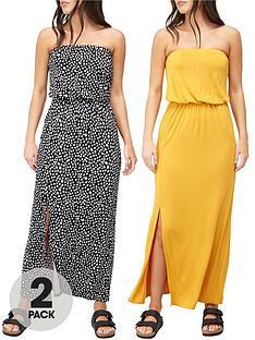 v-by-very-2-pack-bandeau-maxi-dress-mustardspot