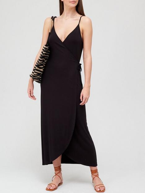 v-by-very-strappy-wrap-maxi-dress-blacknbsp