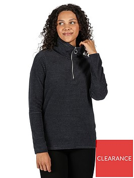 regatta-solenne-quarter-zip-fleece-navysilvernbsp