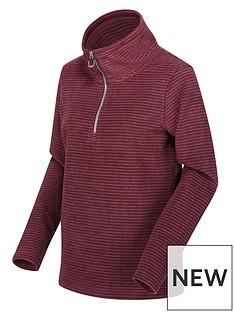 regatta-solenne-quarter-zip-fleece-dark-burgundynbsp