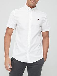 tommy-jeans-lightweight-twill-short-sleeve-shirt-white