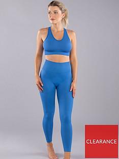 boux-avenue-textured-solid-block-legging-cobalt