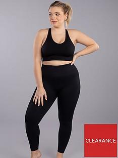 boux-avenue-textured-solid-block-legging-black