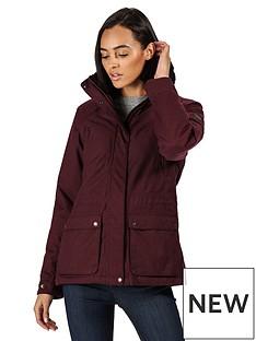 regatta-loretta-waterproof-jacket-dark-burgundynbsp