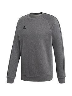 adidas-core-18-sweat-top-dark-grey-heather