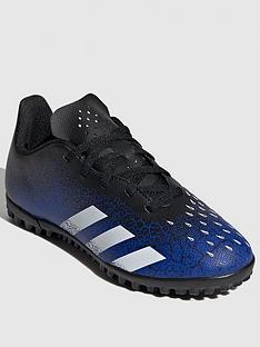 adidas-junior-predator-204-astro-turf-football-boot-blackblue