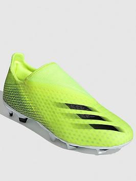 adidas-x-laceless-ghosted3-firm-ground-football-boots-black