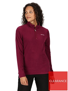 regatta-sweethart-quarter-zip-fleece-purplenbsp