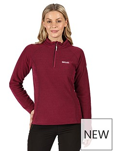 regatta-kenger-half-zip-fleece-dark-pinknbsp