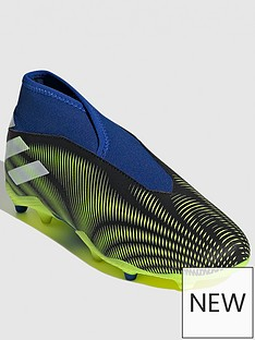 adidas-junior-nemeziz-laceless-193-firm-ground-football-boot-blackyellowblue