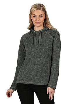 regatta-carys-fleece-hoodie-greennbsp