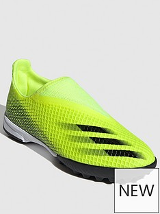 adidas-junior-x-laceless-ghosted3-astro-turf-football-boot-yellow