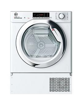 Hoover Batd H7A1Tce 7Kg Fully Integrated Tumble Dryer - White - Washer Dryer Only