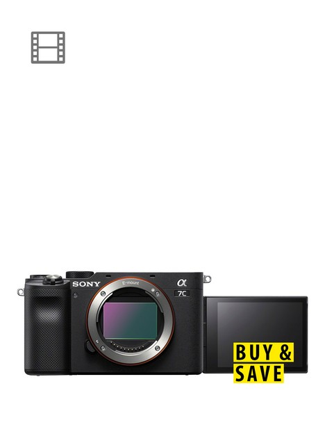 sony-sony-alpha-7-cnbspfull-frame-mirrorless-interchangeable-lens-camera-compact-and-lightweight-real-time-autofocus-242-megapixels-black