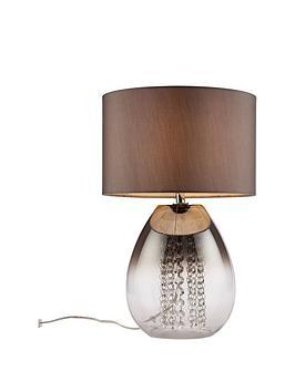 Alyssum Droplet Base Glass Table Lamp