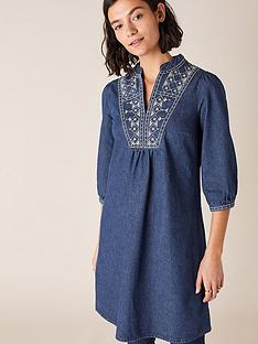 monsoon-embroidered-short-denim-dress