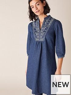 monsoon-embroidered-short-denim-dress