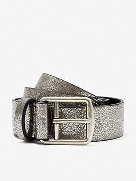 mint-velvet-silvernbspmetallic-leather-belt-dark-grey
