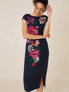 monsoon-pippa-floral-print-shift-dress-navy