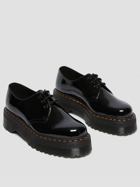 dr-martens-1461-quad-flat-shoe-black