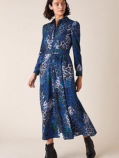 monsoon-andrea-animal-shirt-dress-cobalt