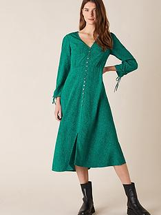 monsoon-printed-sustainable-midi-dress-green