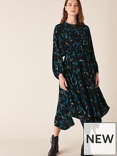 monsoon-abstract-print-hanky-hem-dress-black