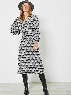 mint-velvet-jude-print-wrap-midi-dress-black