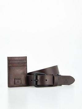 superdry-benson-belt-and-wallet-box-set-dark-tannbsp