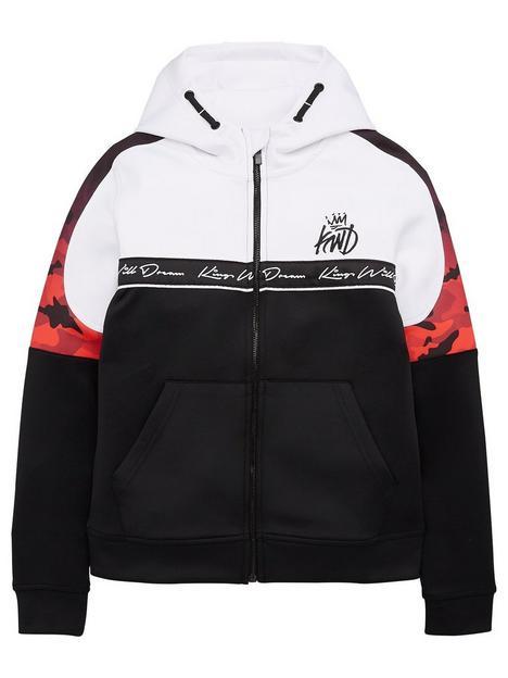 kings-will-dream-boys-skene-zip-through-hoodie-black-white