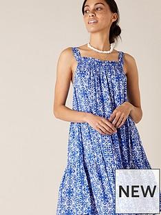 monsoon-printed-dress-blue