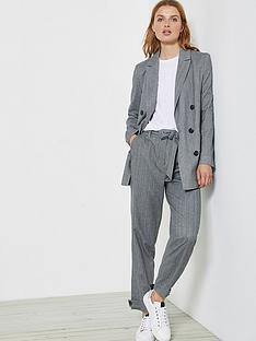 mint-velvet-herringbone-sports-pant-grey