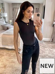 michelle-keegan-shoulder-pad-bodysuit