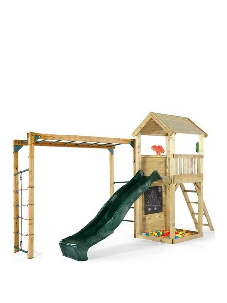 wooden-lookout-tower-with-monkey-bars