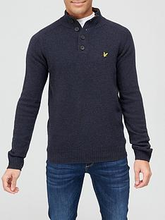 lyle-scott-funnel-neck-knitwear-dark-navy