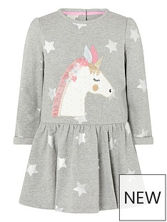 monsoon-baby-girls-unicorn-star-sweat-dress-grey