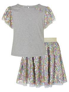 monsoon-girls-disco-sequin-top-amp-skirt-set-grey