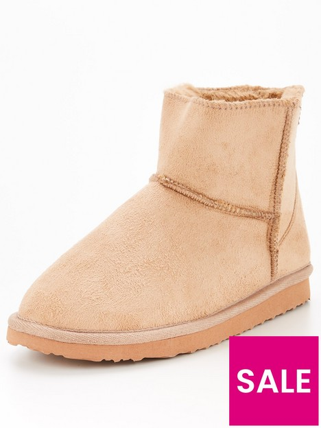 v-by-very-faux-suede-slipper-boot-beige