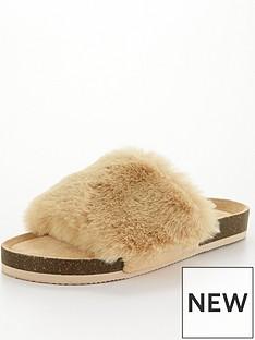 v-by-very-vox-faux-fur-slider-slipper