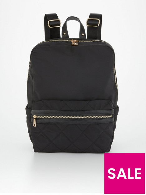 v-by-very-commuternbspquilted-backpack-black