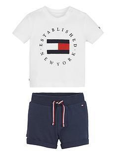 tommy-hilfiger-baby-boys-established-sweat-shorts-set-whitenavy