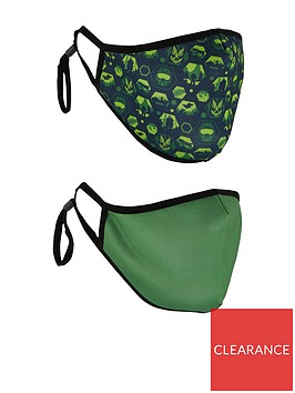 very-man-2-pack-halo-face-mask-green