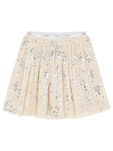 mintie-by-mint-velvet-girls-silver-star-sequined-skirt-cream
