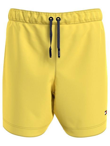 tommy-hilfiger-boys-drawstring-swim-shorts-yellow